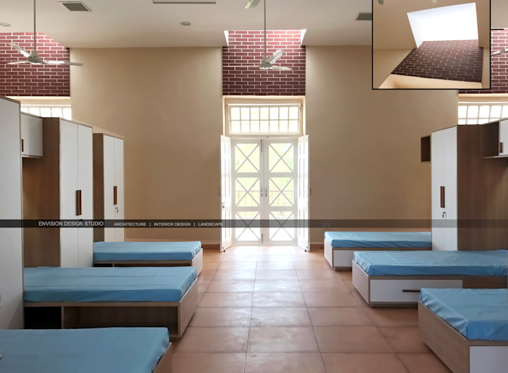 Hostel Block - The Shivaji House - Dormitory by Envision Design Studio