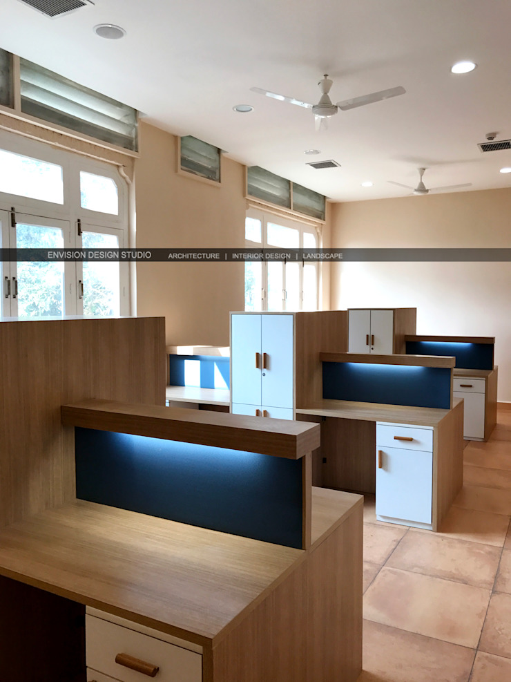 Hostel Block - The Shivaji House - Preparation Room by Envision Design Studio