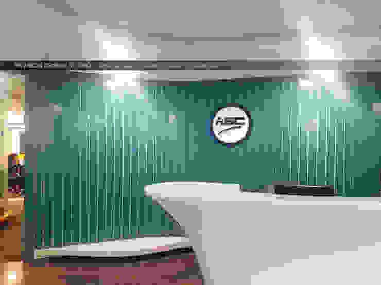 Reception Area by Envision Design Studio