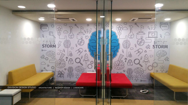 Ground Floor - Discussion Area by Envision Design Studio