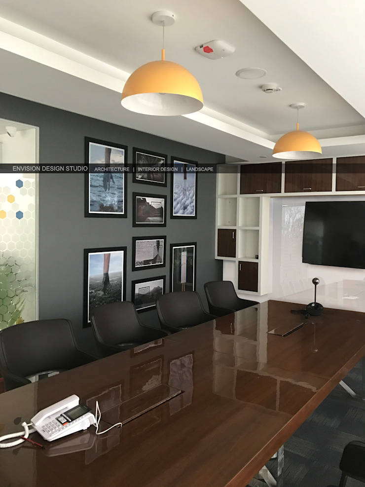 First Floor - Conference Room by Envision Design Studio