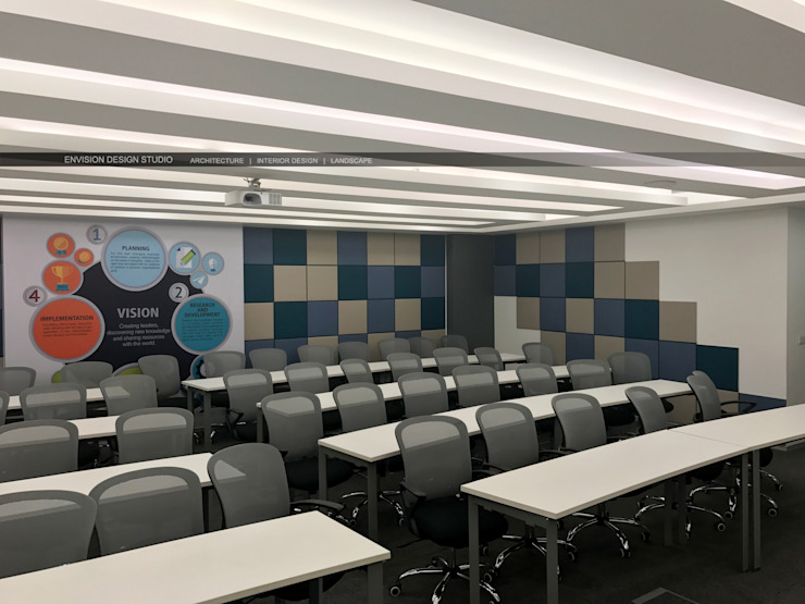 Basement - Training Hall by Envision Design Studio