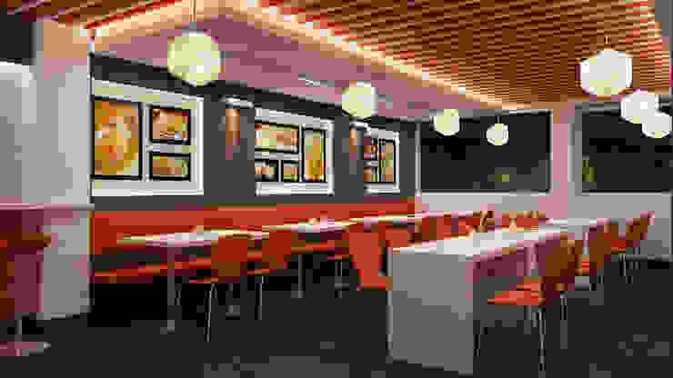 The Mangal restaurant, Patparganj, New Delhi by Envision Design Studio