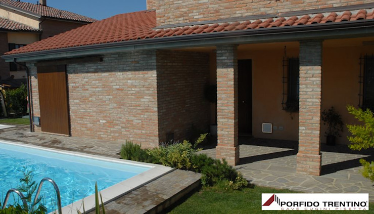 PORFIDO TRENTINO SRL Infinity pool Stone Brown