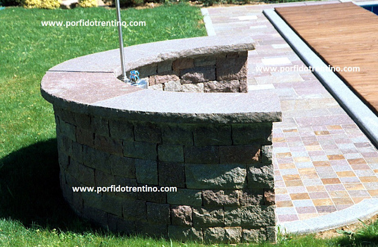 PORFIDO TRENTINO SRL Pool Stone Multicolored