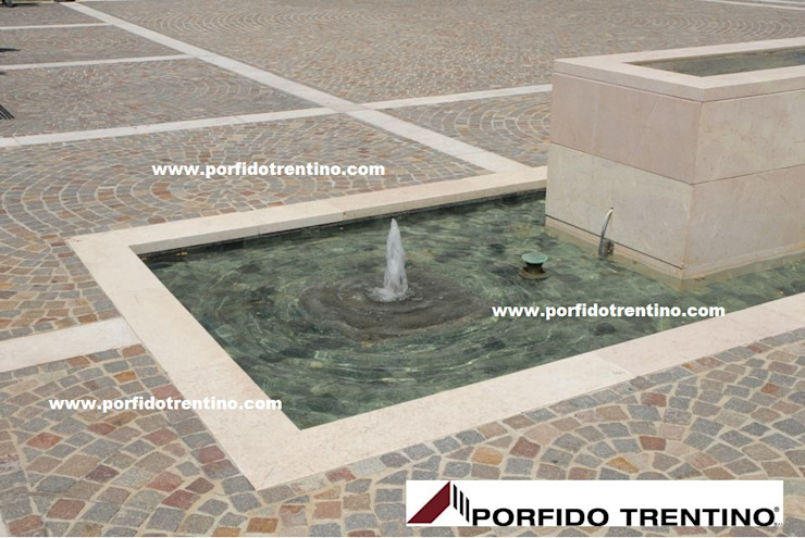 PORFIDO TRENTINO SRL Swimming pond Stone Multicolored