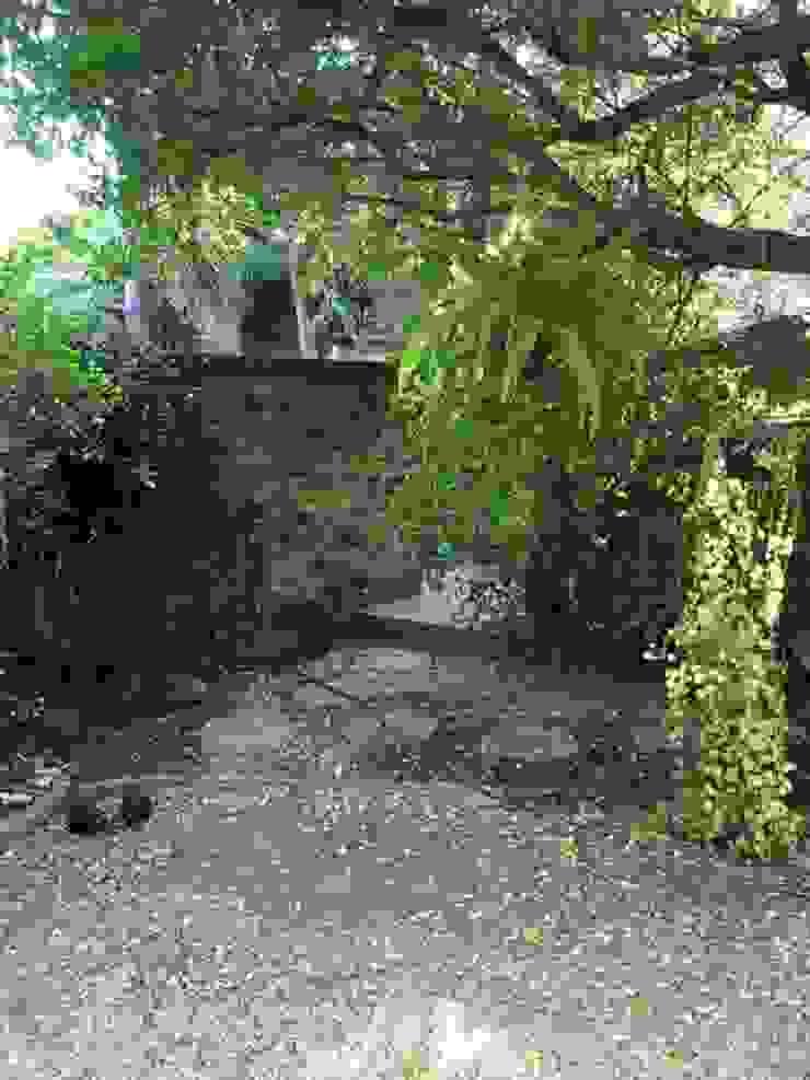 Entrance Before Revamp by Hedgehog Landscapes