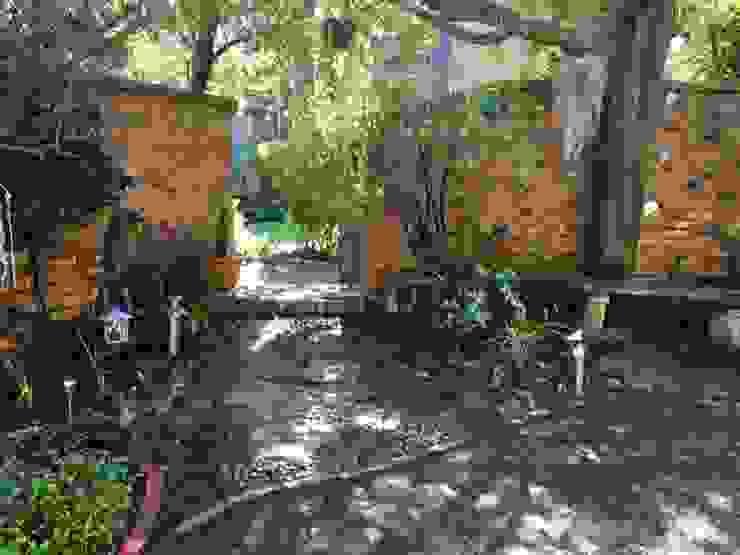 Garden Entance After by Hedgehog Landscapes