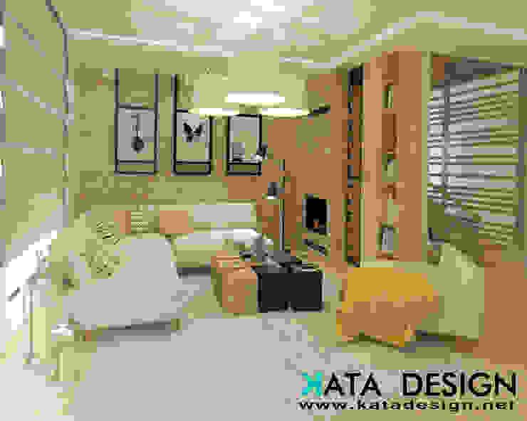 Soggiorno moderno di Studio4Design Moderno Laterizio