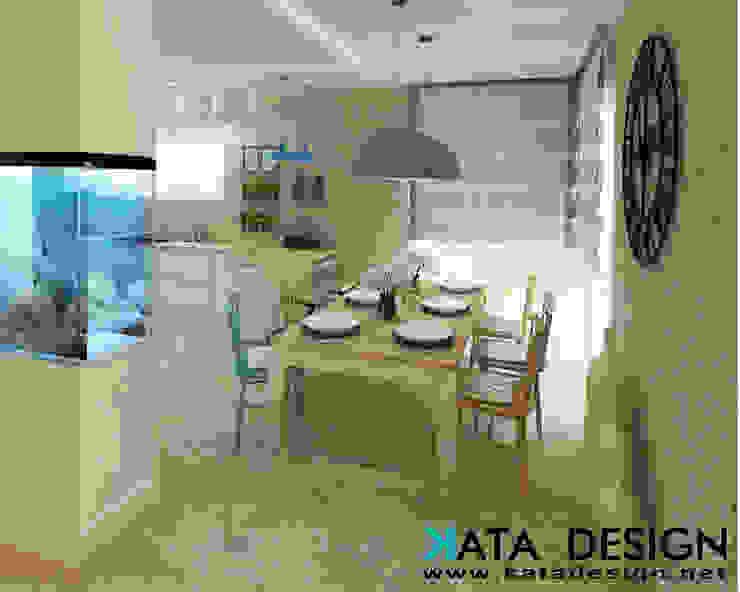 Sala da pranzo in stile rustico di Studio4Design Rustico Laterizio