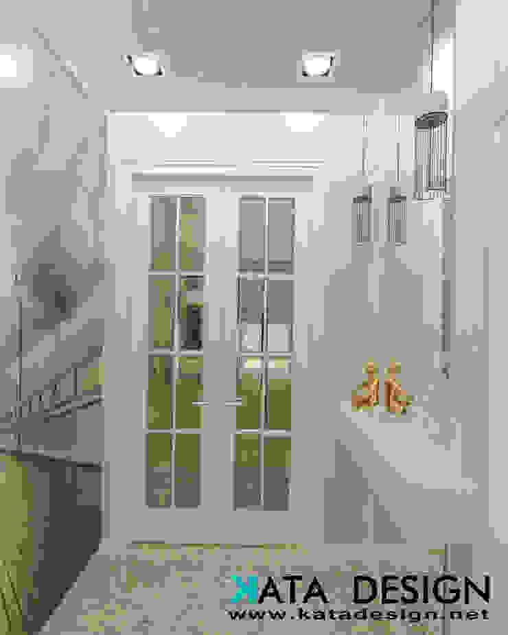 Koridor & Tangga Modern Oleh Kata Design Modern Kaca