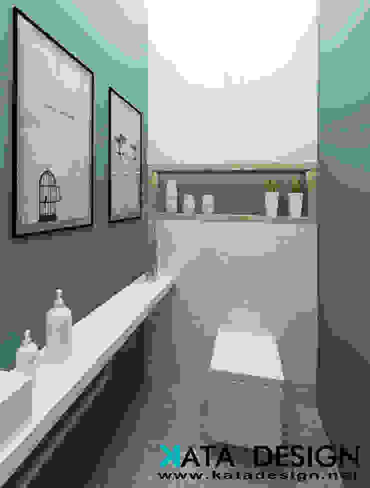 Bagno in stile industriale di Studio4Design Industrial PVC