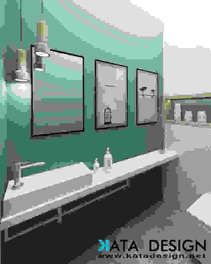 Bagno minimalista di Studio4Design Minimalista Legno Effetto legno