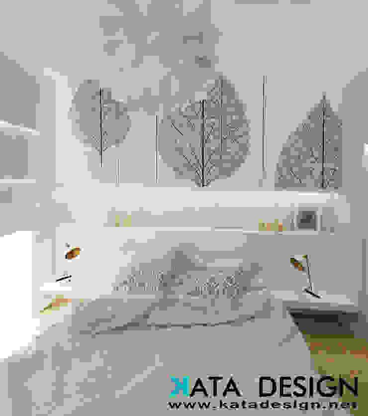 Camera da letto minimalista di Studio4Design Minimalista Pietra