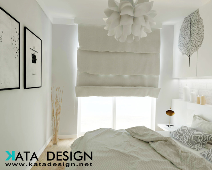 Camera da letto minimalista di Studio4Design Minimalista Ceramica