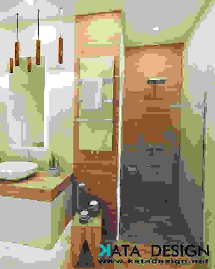Bagno moderno di Studio4Design Moderno Cemento