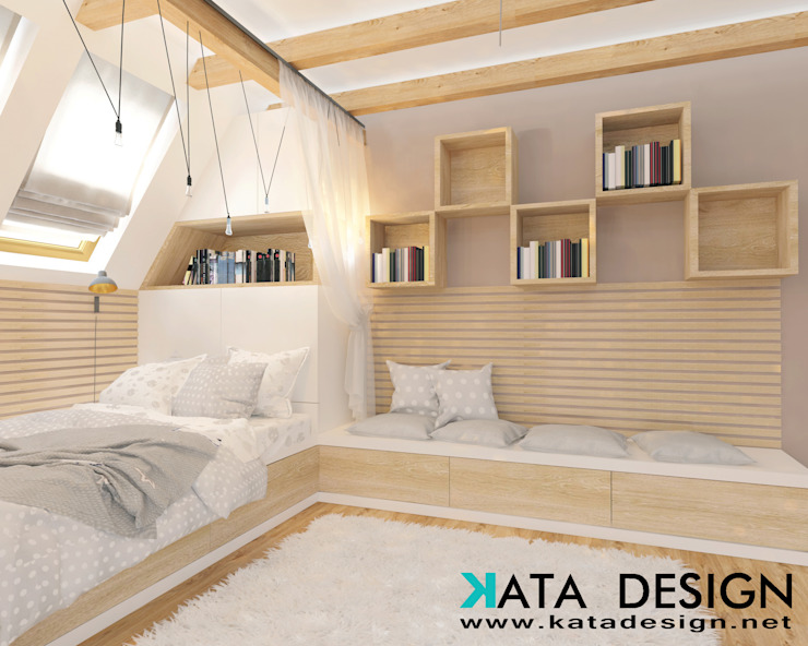 Teen bedroom by Kata Design