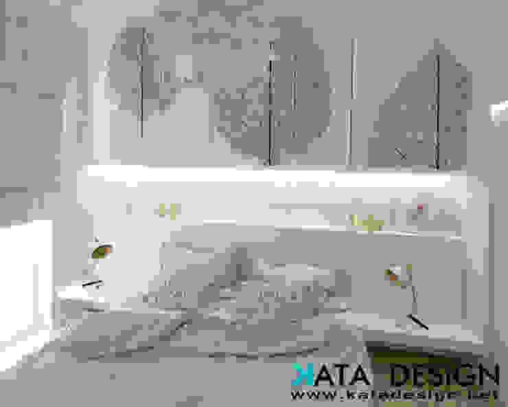 Camera da letto minimalista di Studio4Design Minimalista Legno composito Trasparente