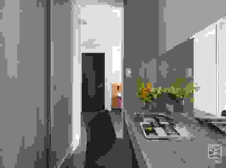 Spogliatoio in stile  di 禾廊室內設計, Minimalista