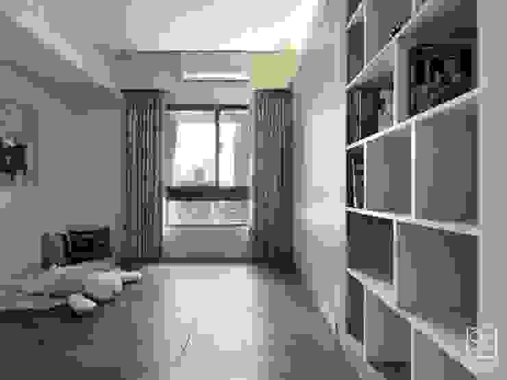 多功能室 Minimalist bedroom by 禾廊室內設計 Minimalist
