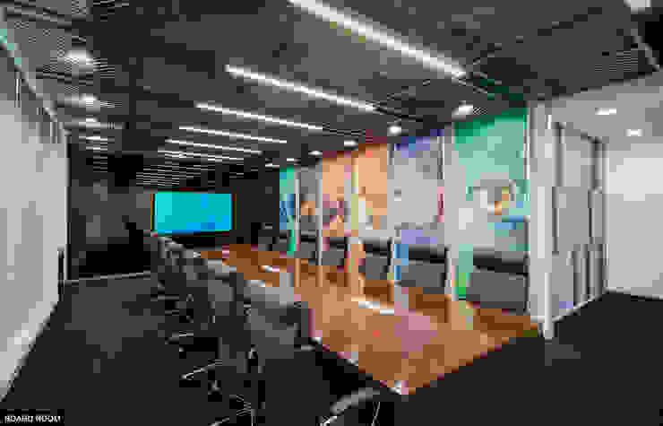 Board Room: modern  by Basics Architects,Modern