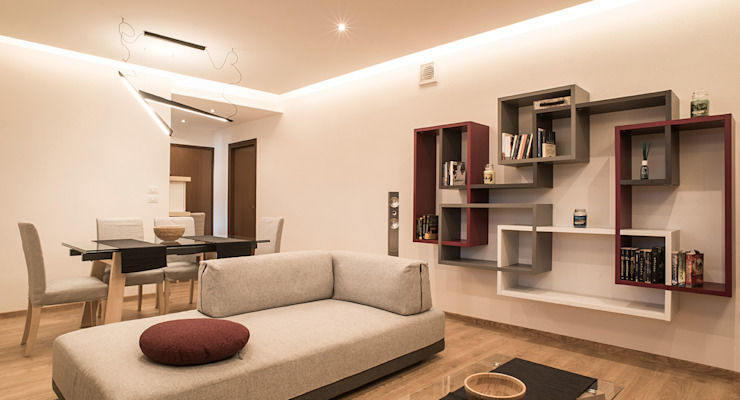 Modern Living Room by Arkinprogress Modern