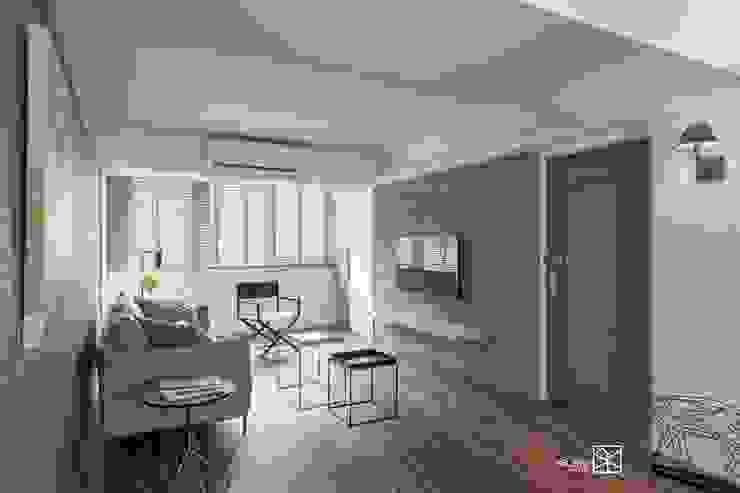 客廳 根據 禾廊室內設計 簡約風
