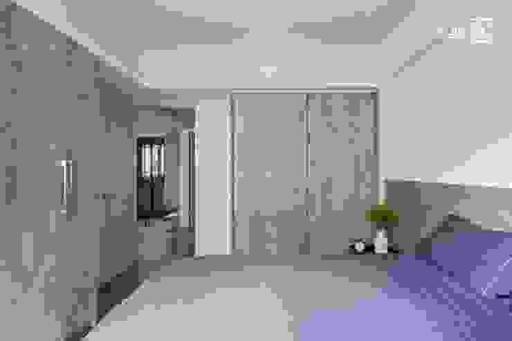 Dormitorios de estilo  de 禾廊室內設計, Minimalista
