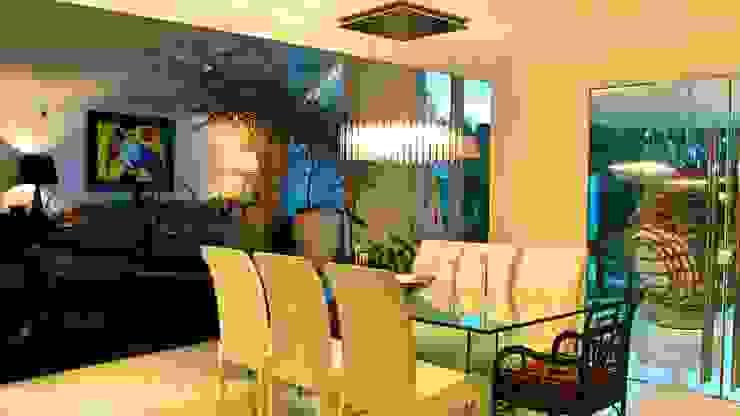 Residencia Alves Salas de jantar modernas por STUDIO AGUIAR E DINIS Moderno