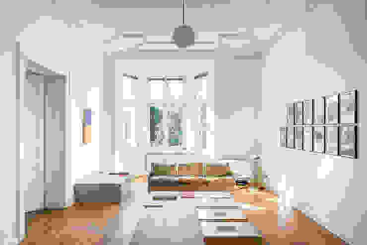 Salones de estilo minimalista de architectureshooting Minimalista