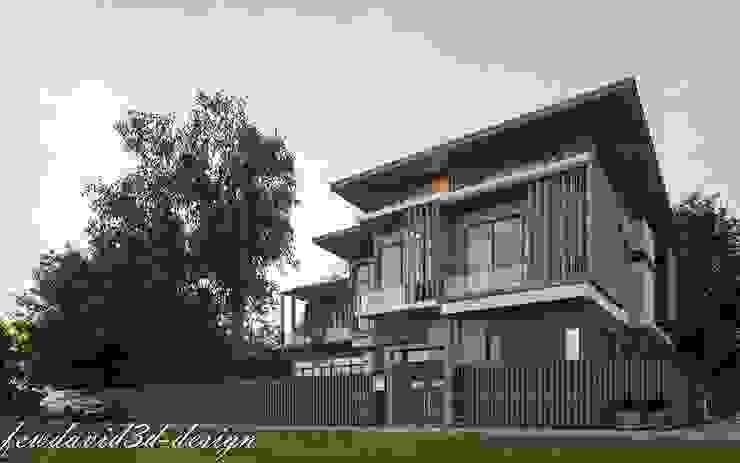 現代房屋設計點子、靈感 & 圖片 根據 fewdavid3d-design 現代風