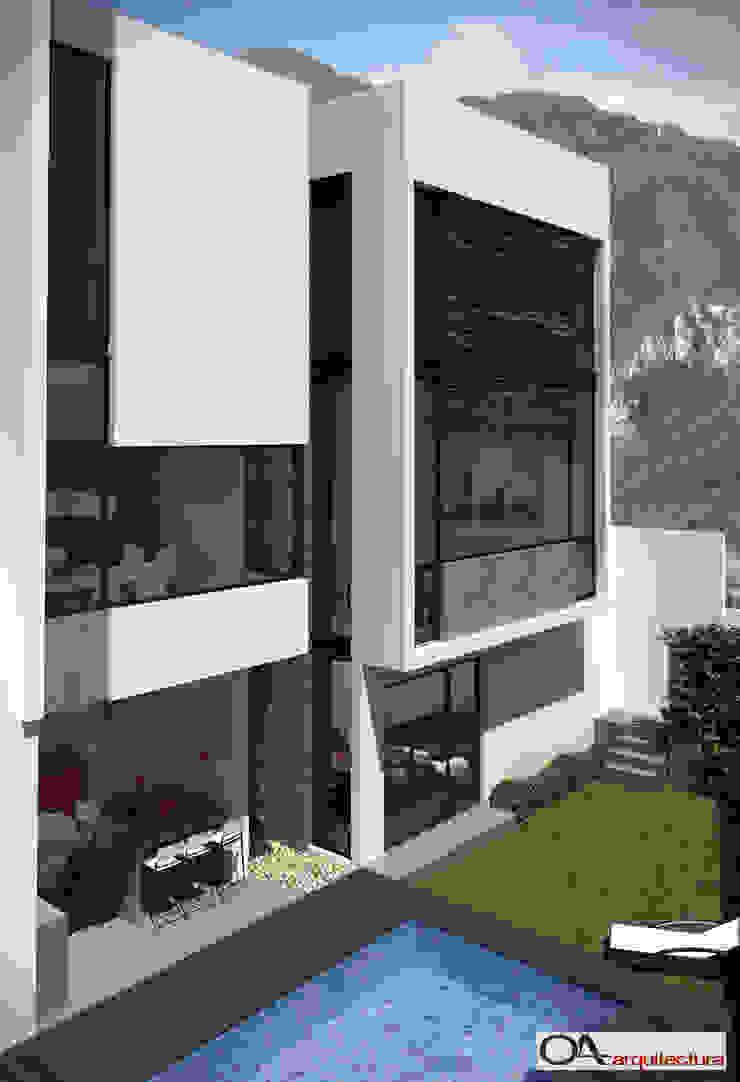 Minimalist houses by OA arquitectura Minimalist