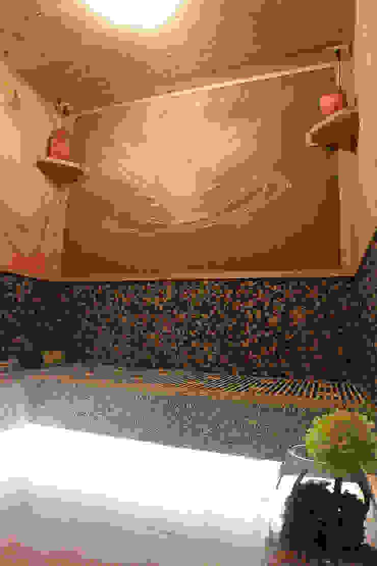 七彩水晶能量房 萩野空間設計 Asian style gym Tiles