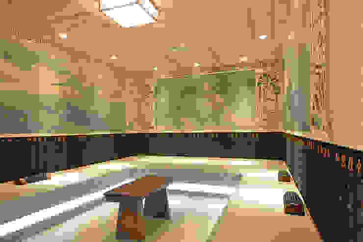 女公共汗蒸房 萩野空間設計 Asian style gym