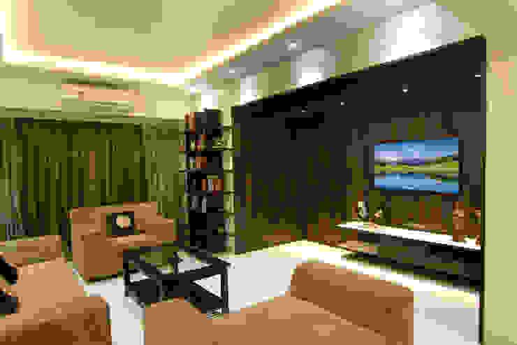 Living Room Modern living room by homify Modern Wood Wood effect