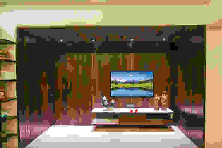 Tv unit- Living Room Modern living room by A Design Studio Modern Wood Wood effect
