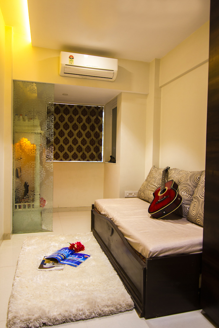 Guest Bedroom Modern style bedroom by A Design Studio Modern