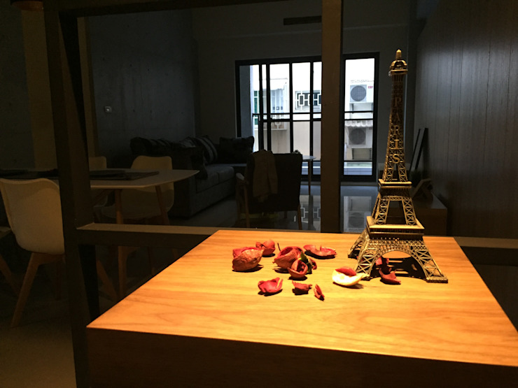 北歐風格宅: 斯堪的納維亞  by 台灣柏林室內設計工作室, 北歐風
