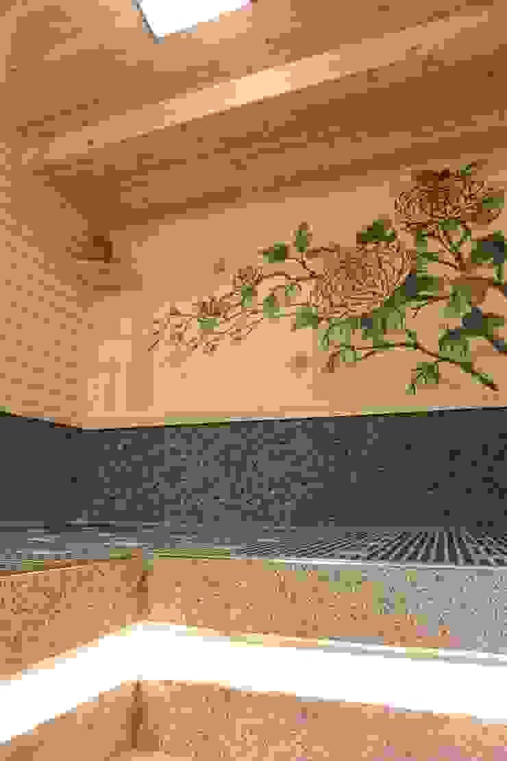 VIP電氣石汗蒸房 根據 萩野空間設計 日式風、東方風