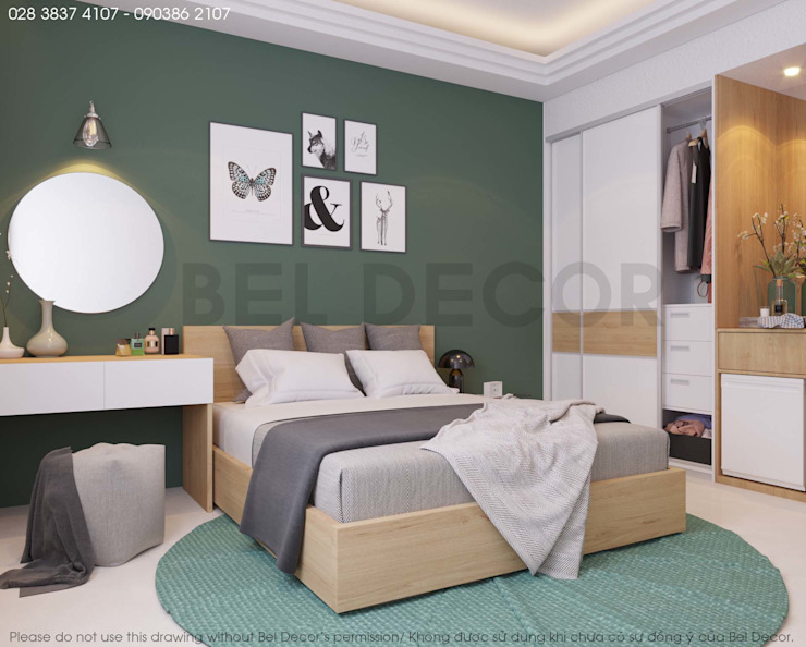 Project: PR1713 Hotel/ Bel Decor bởi Bel Decor