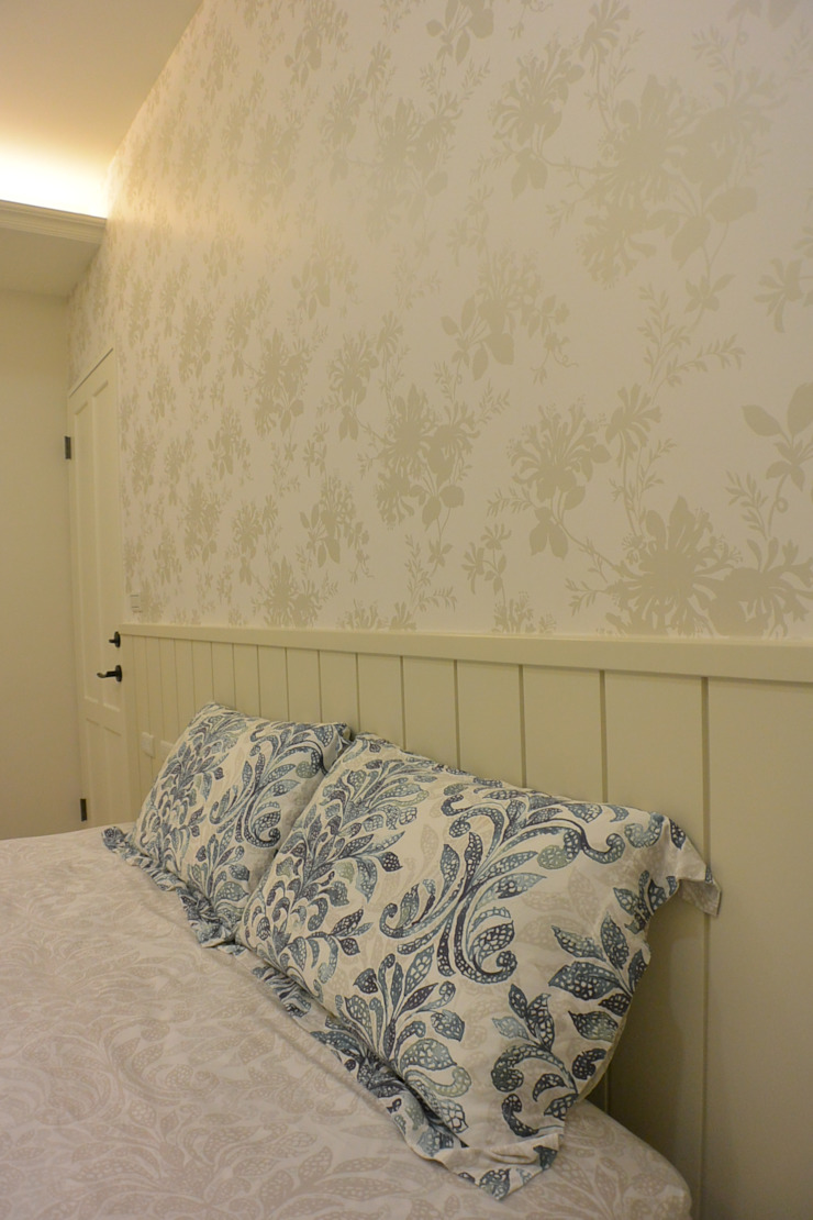 Scandinavian style bedroom by 萩野空間設計 Scandinavian