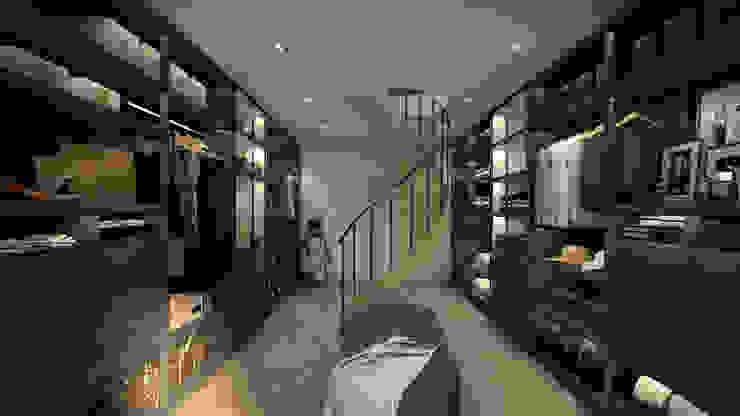 غرفة الملابس تنفيذ MRS - Interior Design