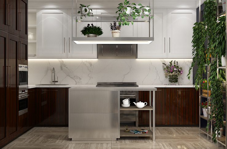 by U-Style design studio Eclectic