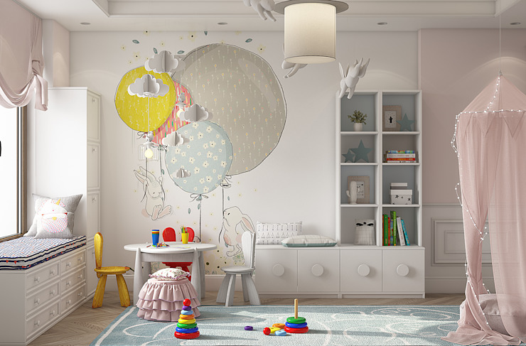 Eclectic style nursery/kids room by YOUSUPOVA Eclectic
