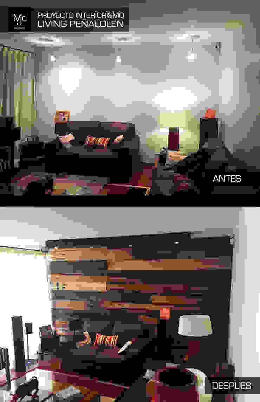Proyecto Interiorismo casa HB Peñalolen de MJO ArqDesign