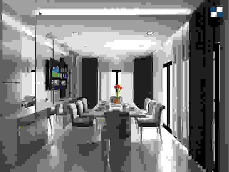 Dining room. โดย walkinterior