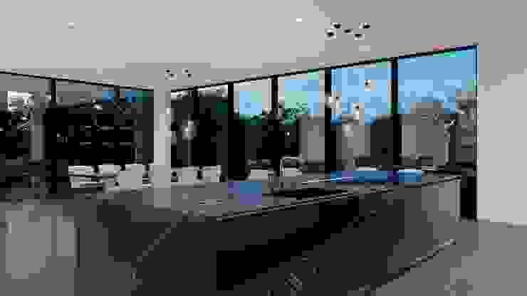 Algonquin Modern kitchen by Design Studio AiD Modern