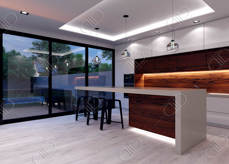 Design Studio AiD 現代廚房設計點子、靈感&圖片