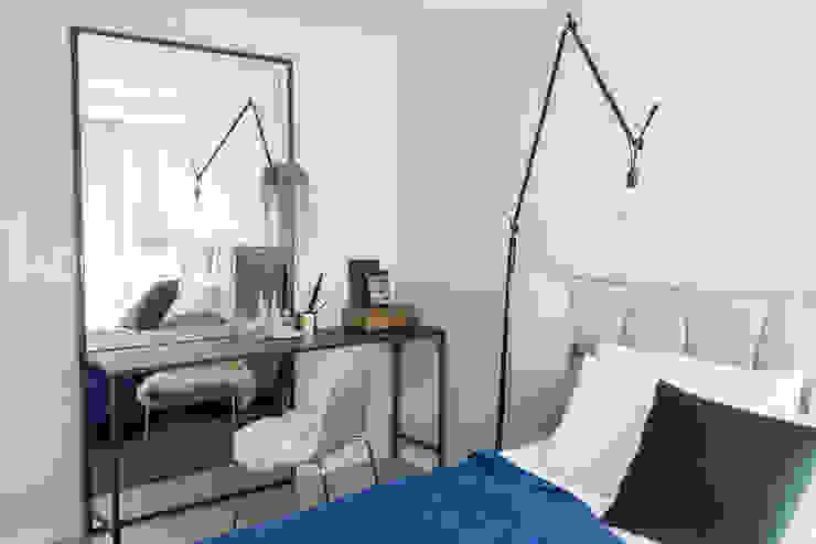 just relax_서래마을 빌라 인테리어: (주)바오미다의  침실