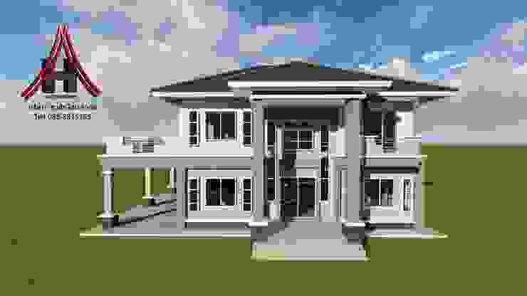 บ้าน2ชั้น[G 012] โดย รับสร้างบ้านหนองบัวลำภู